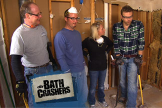 Bath Crashers features Jeff Wuensch